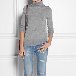 J. Crew 🌸 Gray Merino Wool Turtleneck Sweater